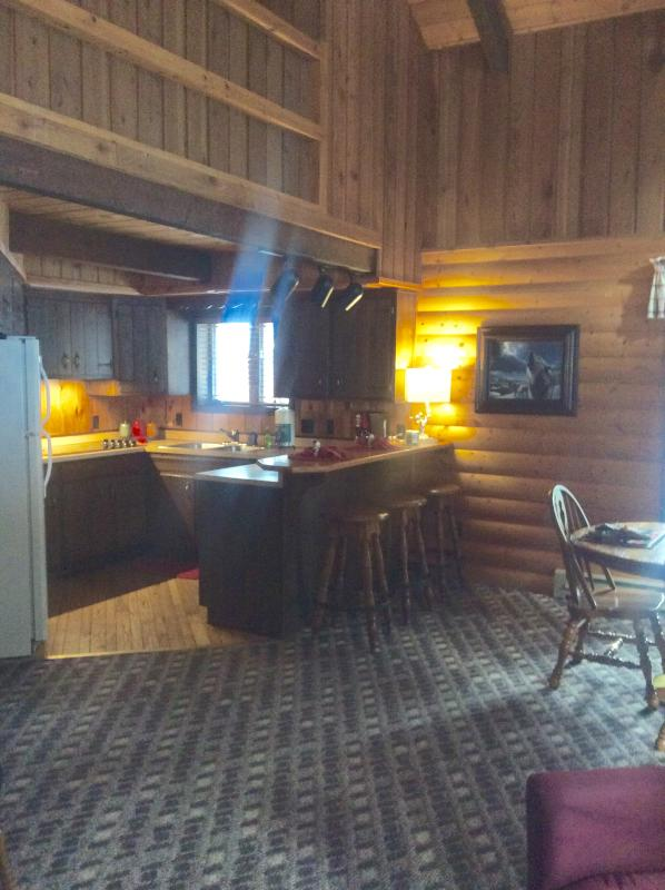 Cabin 7 Full Kitchen