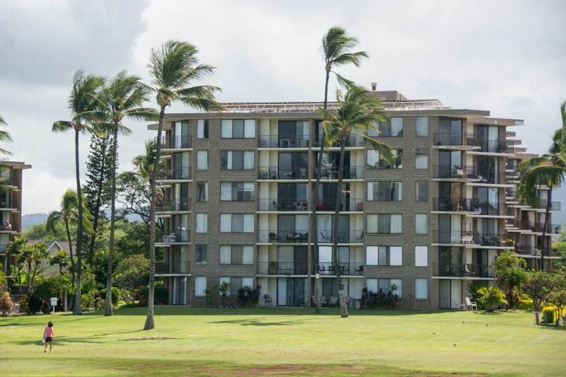 Kauhale Makai as seen from the beach side