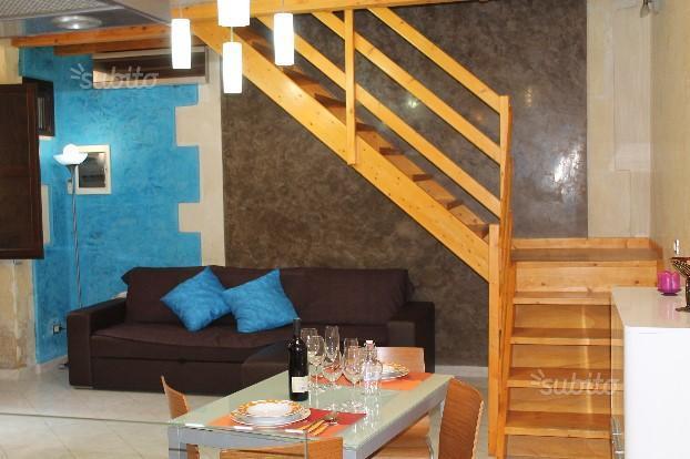 zona soggiorno con divano letto