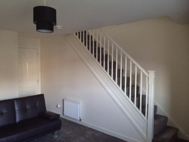 Hallway for 3 bedrooms