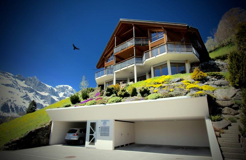 ALPHAVEN Apartment A - Breathtaking Panoramic Views, vacation rental in Engelberg