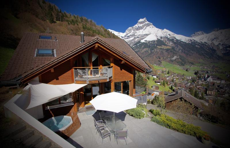 ALPHAVEN  Summer  Featuring Apartment A's Terrace and Private Covered HOT TUB