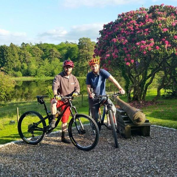 Mountain Biking Trails on Site