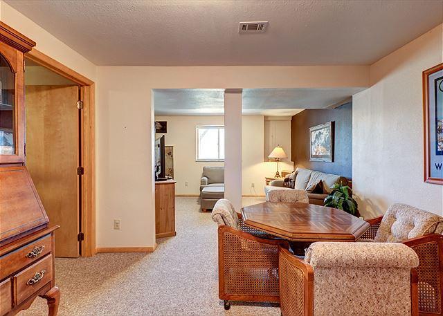Peak 7 Hideaway Family Room Breckenridge Lodging Vacation Rental