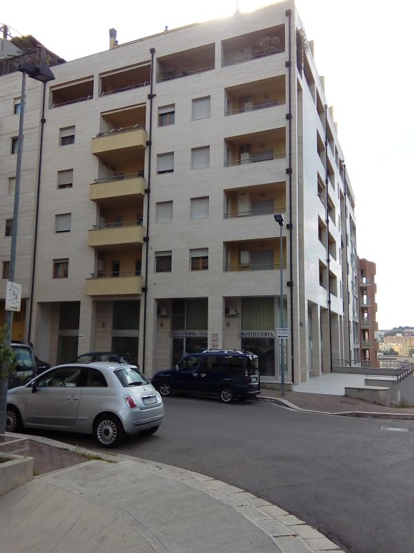 Exterior of the building where is located the house Macamarda. Our paino is the sixth, with lift.