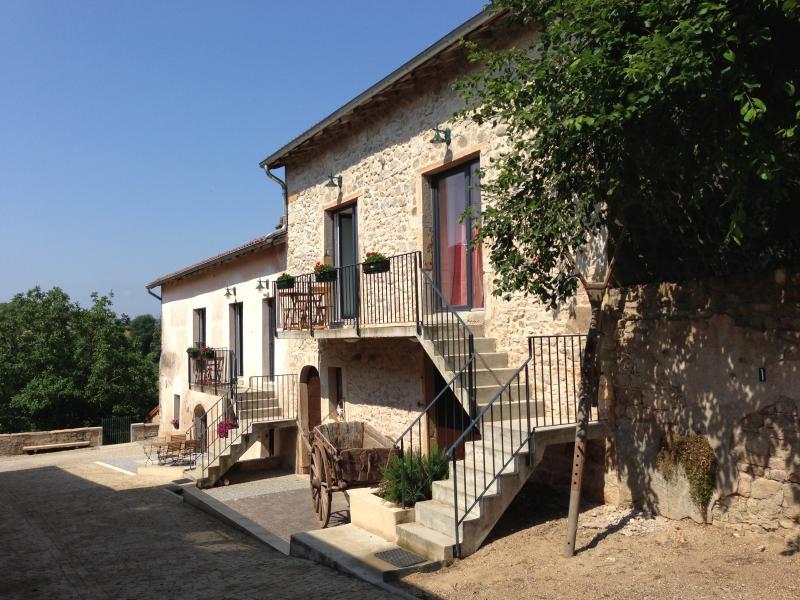 Charmante Appartement 'Les Hauts de Cluny', holiday rental in Sance