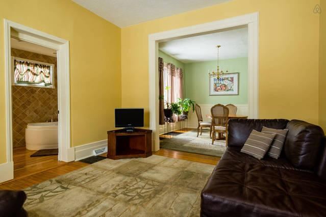 1st floor living room-your home away from home with pleasing color palette and pleasant furnishings