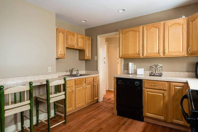 1st floor kitchen - breakfast bar in kitchen for those quick and informal  meals