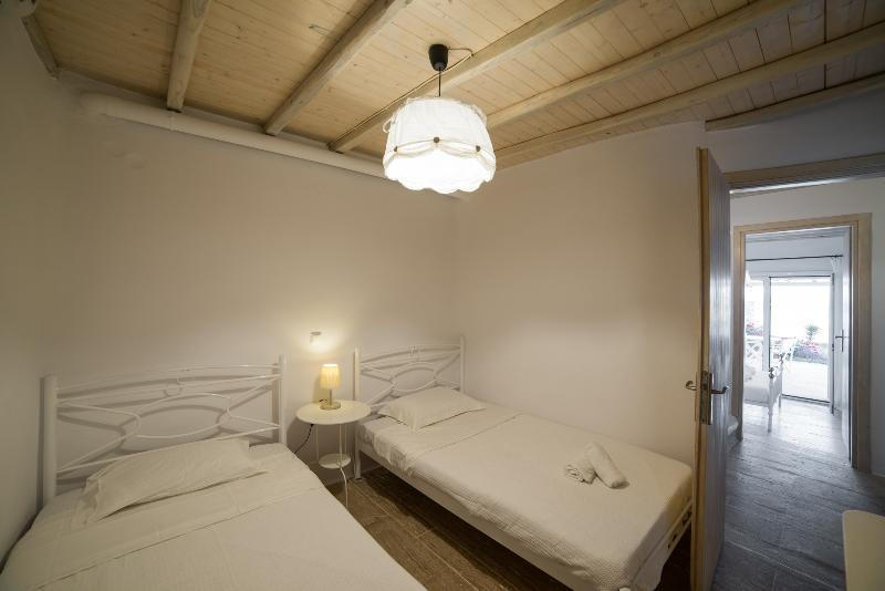 Bedroom 2 has twiin beds suitable for families or group of friends