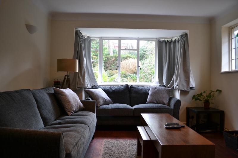 Lounge with flat screen TV, DVD player, Sky, free WiFi. Large sofa, extra large sofa,  and sofa bed.