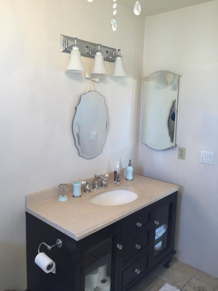 Master Bathroom on upper level