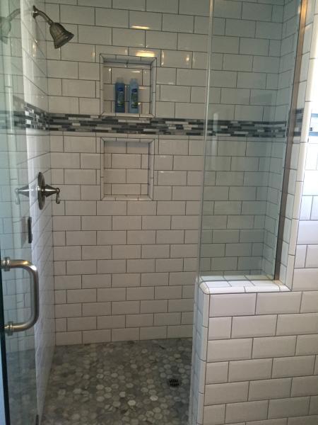 Middle Level Bathroom.