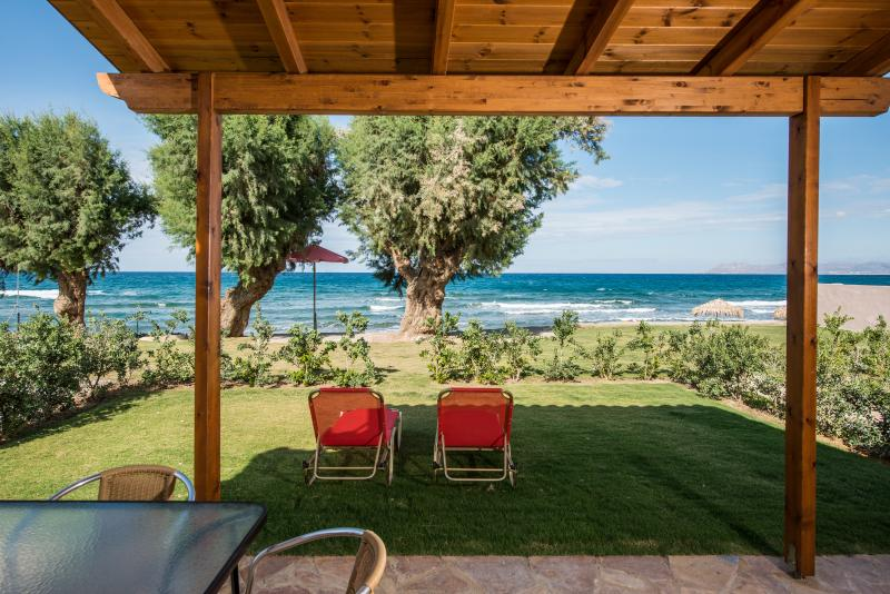 Enjoy the sea view from your front porch