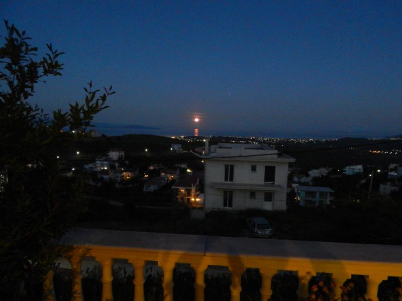 Full Moon - view from the balcony