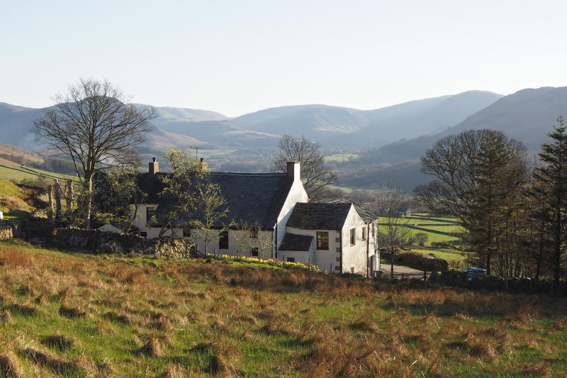 High Swinside Holiday Cottages have an idyllic hillside setting giving superb views over Lorton Vale