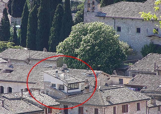 Il belvedere e il terrazzo sul tetto