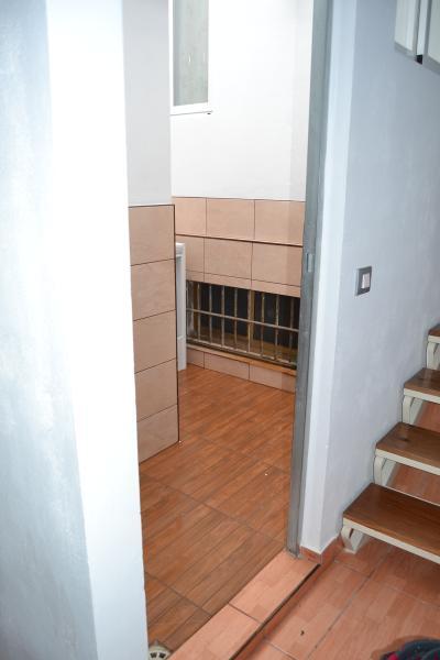 patio interior con lavadora , para evitar ruidos dentro de la casa
