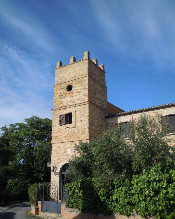 Torre Martinetti Bianchi a Silvi, Abruzzo - Italia
