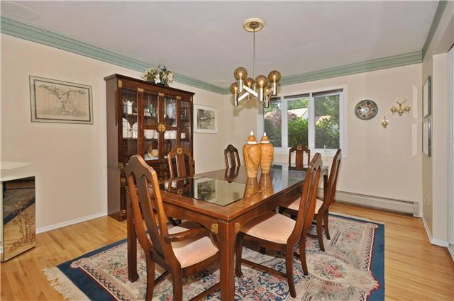 Dining Room table can seat 8