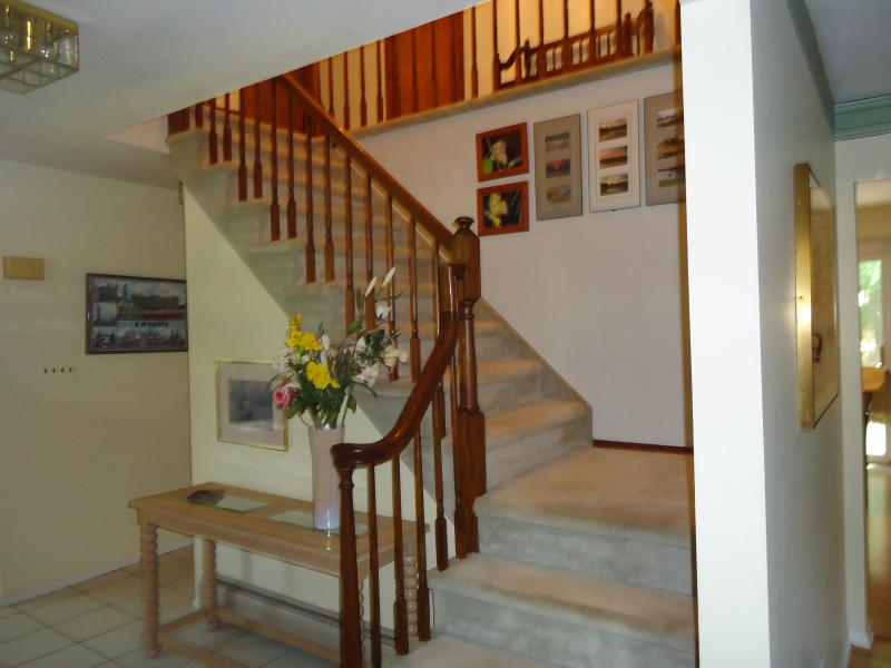 Foyer leading to upstairs