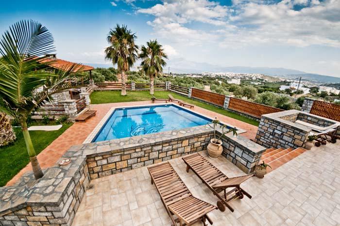 Villa Theano, location de vacances à Agios Nikolaos