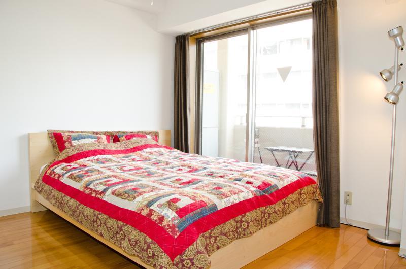 Nice comfortable queen size bed!