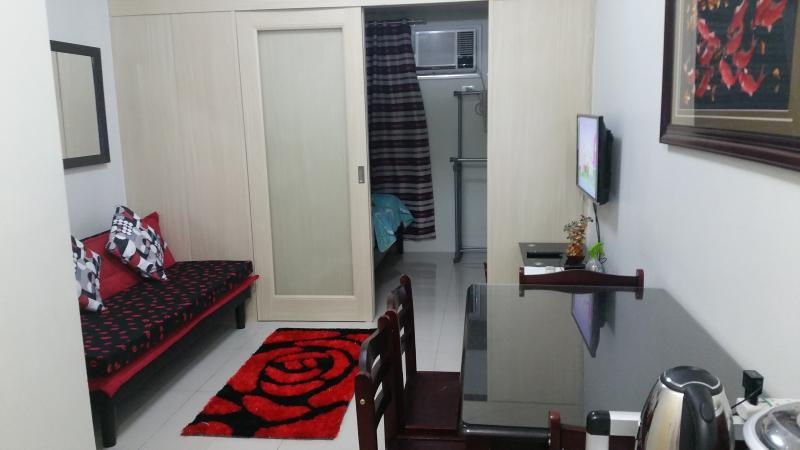 Comfortable place to live in and very clean new condo in Makati