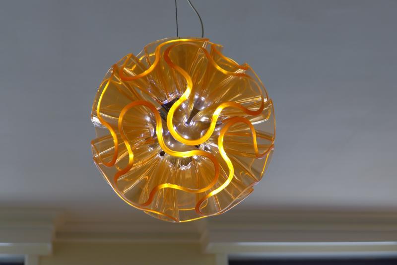 japanese design lighting in living room