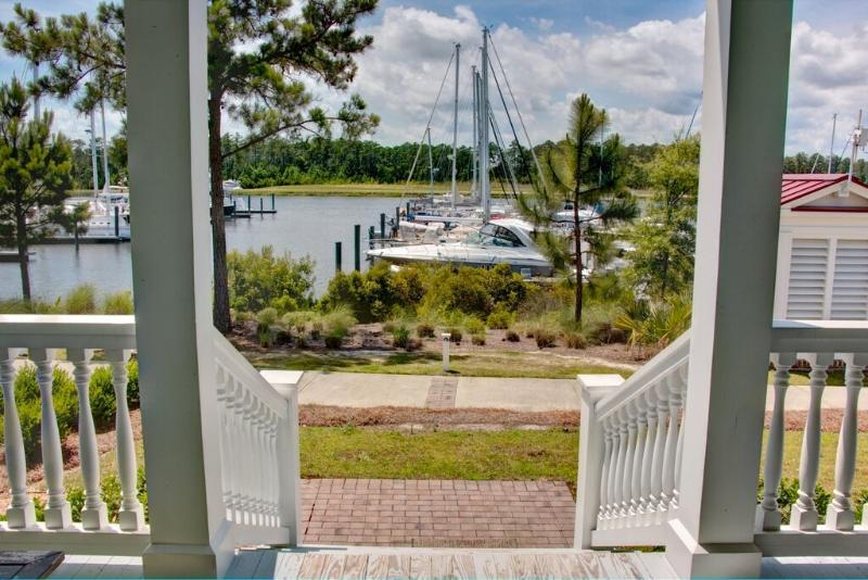 Back Porch overlooking Grace Harbor