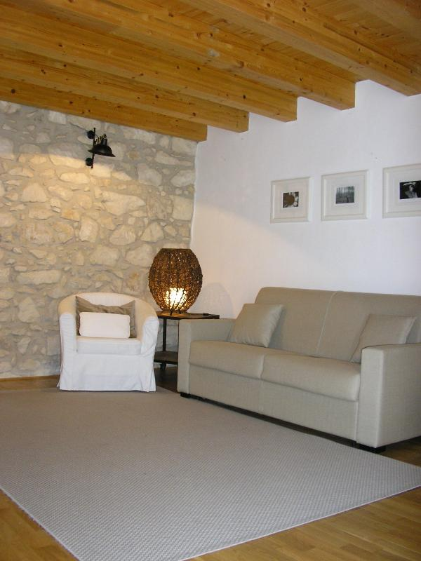 Living Room with sofà bed