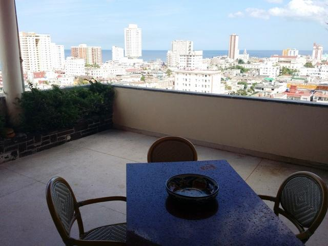 Exclusive view of havana City from our terraza