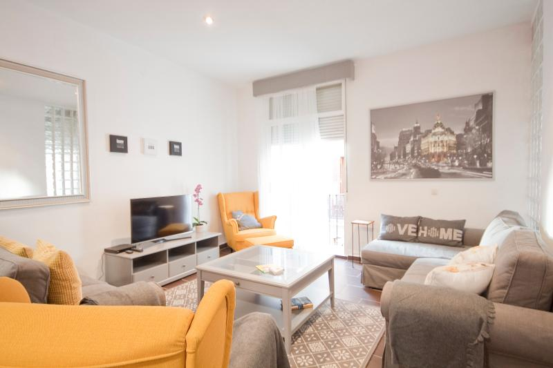 Spacious, bright apartment in the middle of Sol