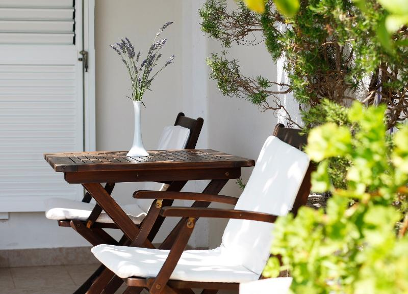 Lemon, orange, pomegranate, rosemary and lavender this terrace gives a special charm and atmosphere