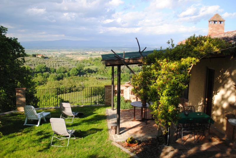 Casa vacanze, Le Corolle 3, holiday rental in Abbadia di Montepulciano