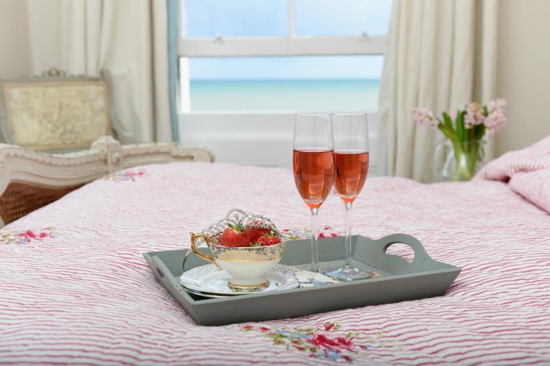 Indulge yourself with breakfast in bed