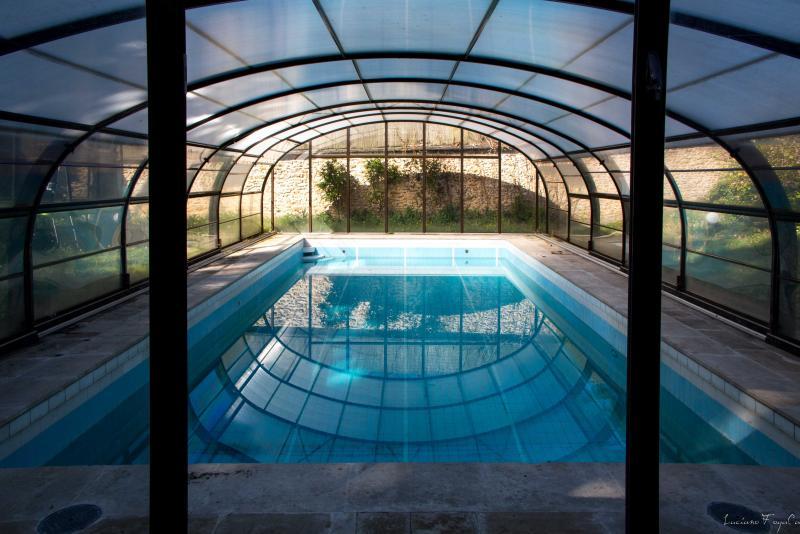 Der Pool (gemeinsam, erwärmt, bis Mitte September)