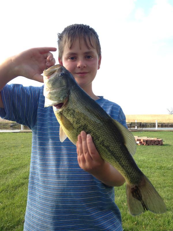 Great fishing.