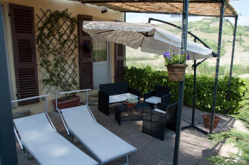 Tenuta Fagnanetto appartamento Pergolato, location de vacances à Bubbio