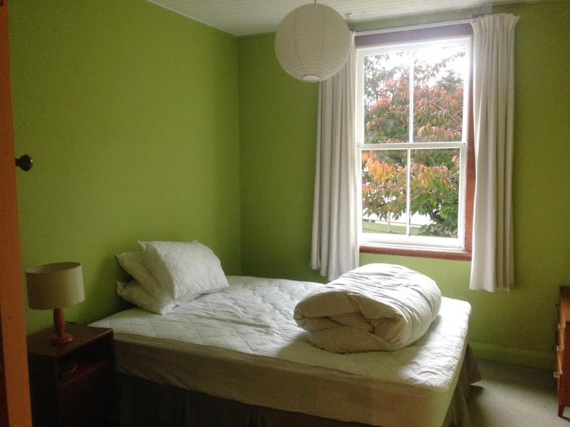 Back room with Queen  bed