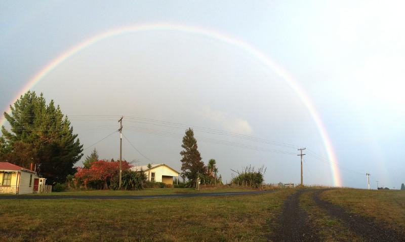 Autumnal rainbow