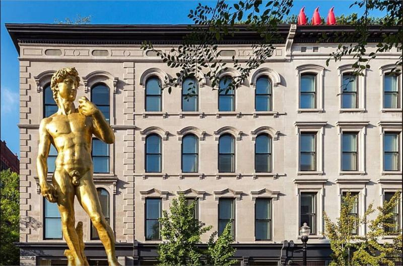 21C Art Museum- 10 blocks away