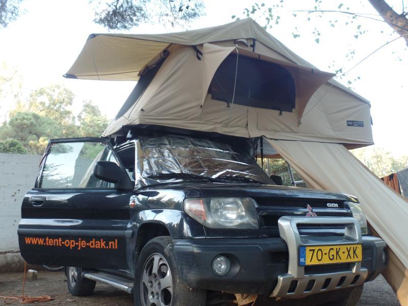 Tent op je dak 4x4 en daktent verhuur, holiday rental in Katwijk