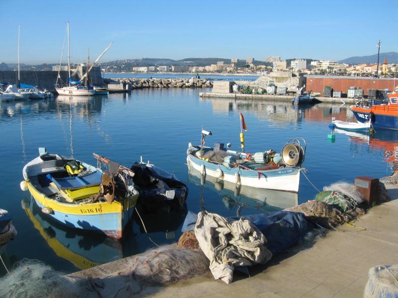 Porto di pescatori di Cros de Cagnes