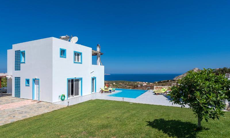 Katia Seaview Villa, Plaka Chania Crete, alquiler vacacional en Plaka