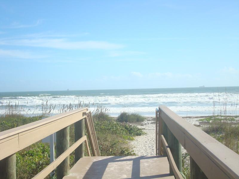 A SHORT BOARDWALK PRIVATE ACCESS TO THE BEACH