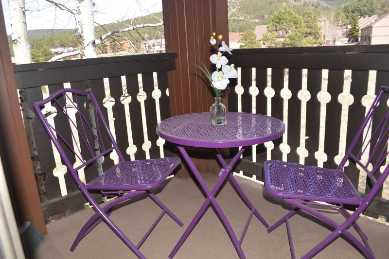 Eigen balkon af master suite