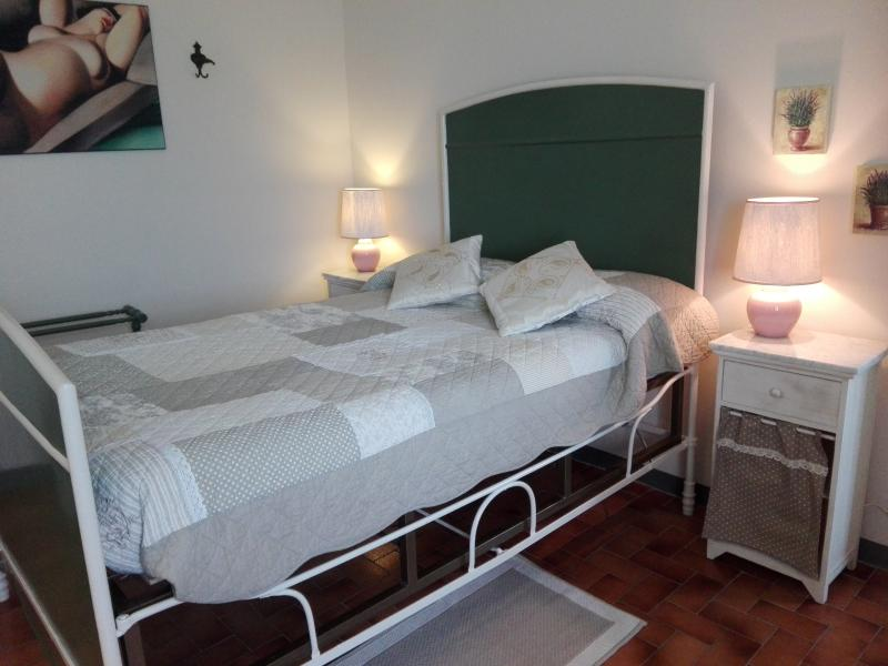 Green Bedroom, very romantic!