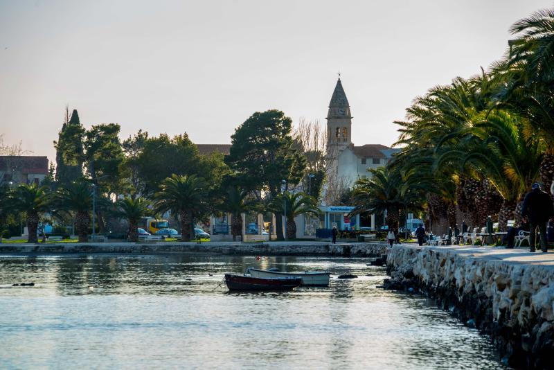 Stobrec seafront