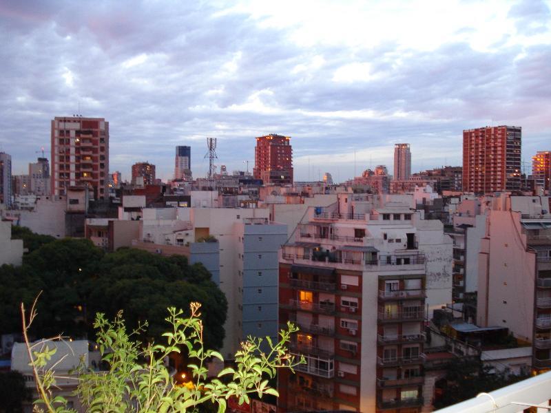 Vista desde el balcón hacia  el norte.
