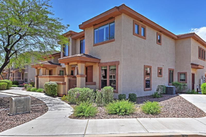 gated 3br anthem townhome w pool access has central heating and rh tripadvisor com